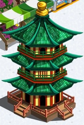 farmville red pagoda