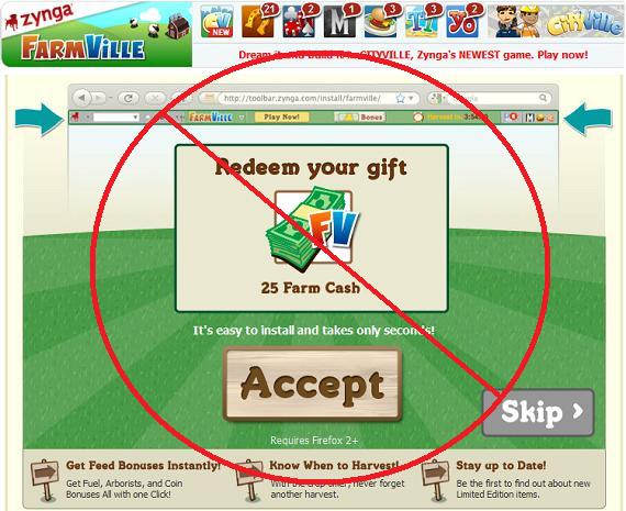 FarmVille Fake Offer