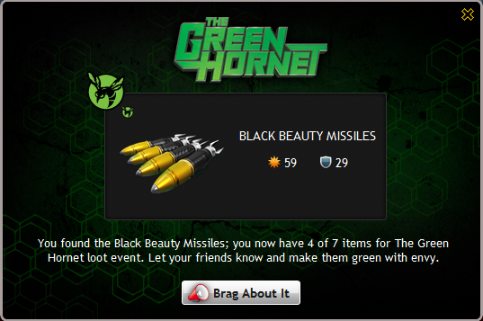 Black Beauty's Missiles