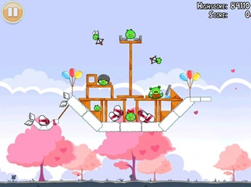Angry Birds Cloud Ship