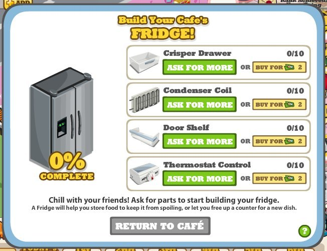 cafe world cheats refrigerator gifting links