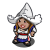 FarmVille gnome Dutch Girl Gnome