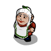 FarmVille gnome Mrs Claus Gnome