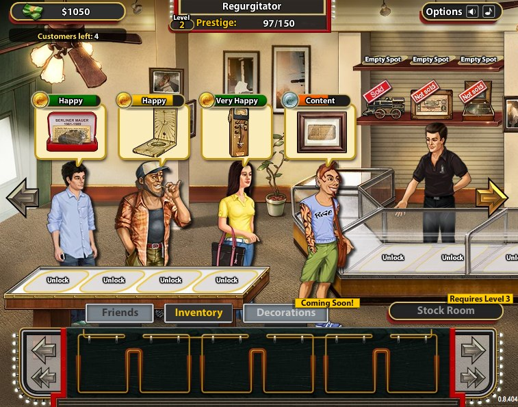 Pawn stars (web) review game reviews | squackle. Com! The.