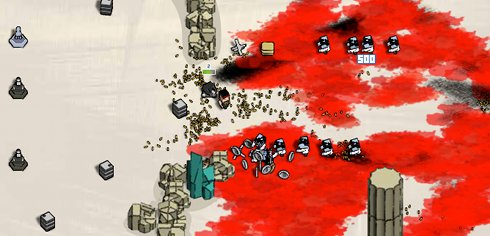 Boxhead blood shed