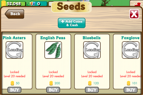 FarmVille English Crops 3