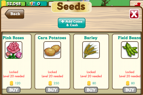 FarmVille English Crops 4