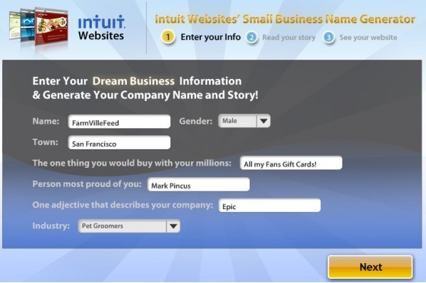 FarmVille and Intuit