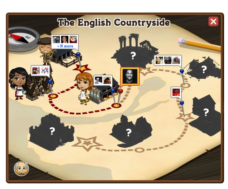 farmville english countryside quest map