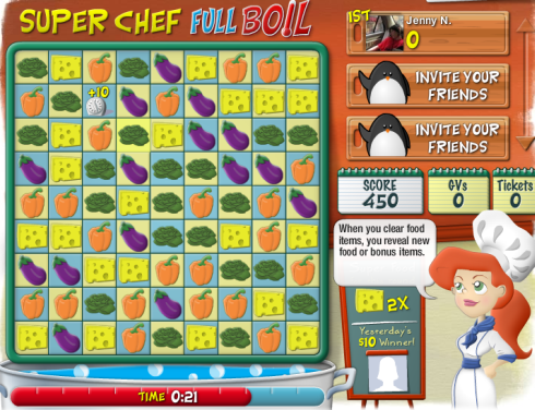 Gamesville Super Chef Full Boil