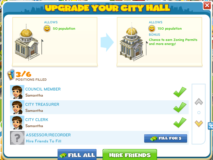 City Upgrade 1