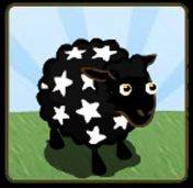 farmville england black sheep white stars