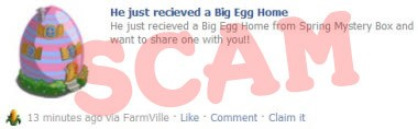 Big Egg Home scam