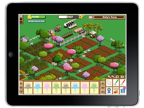 FarmVille for iPad