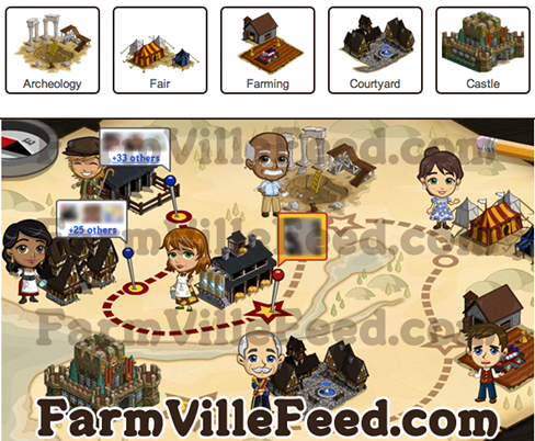 FarmVille English Village Map