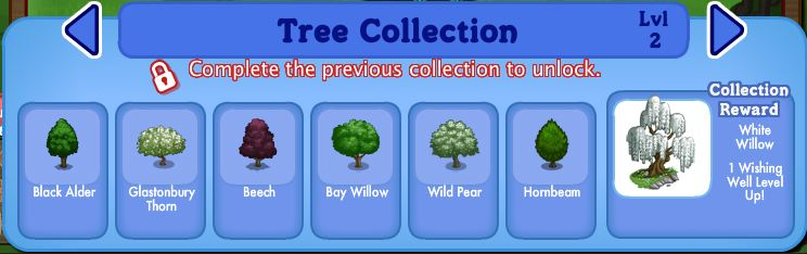 farmville england tree collection