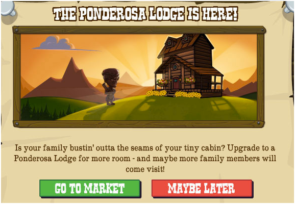 Ponderosa Lodge Goals