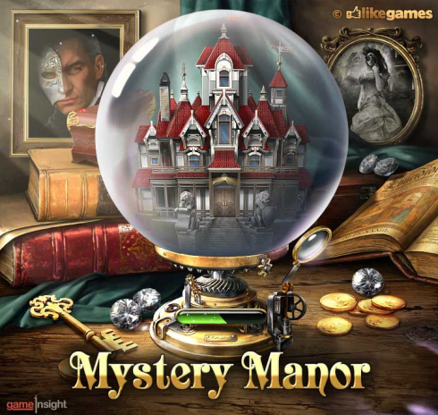 6waves and Game Insight Mystery Manor on Facebook