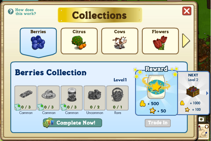 FarmVille Berries Collection