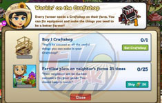 craft shop goals guide farmville cheats