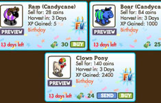 farmville second birthday decorations