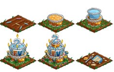 farmville birthday cake crop
