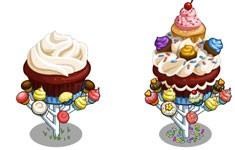 farmville birthday candy trees