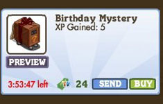 farmville second birthday mystery crate