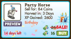 Party Horse