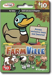FarmVille Game Card