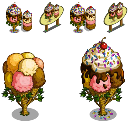 Ice Cream Trees