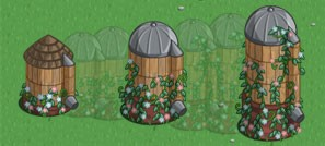 FarmVille Crafting Silo grow