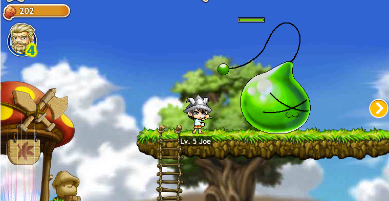 MapleStory Adventures in action