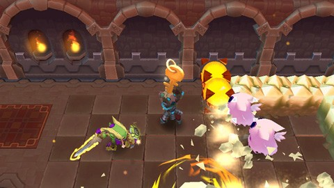 Spiral Knights in action