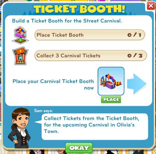 Ticket Booth!