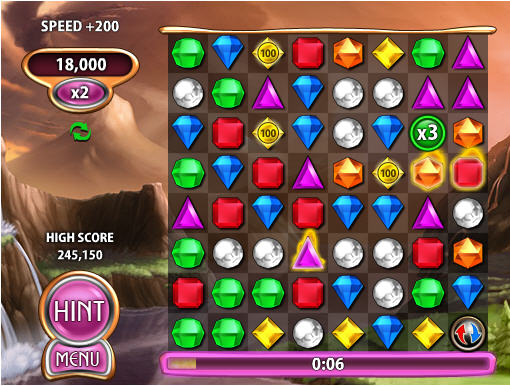 Bejeweled Blitz gameplay