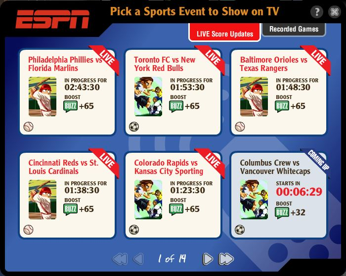 Playdom Hits It Out Of The Park With Espn Sports Bar Grill Aol Games