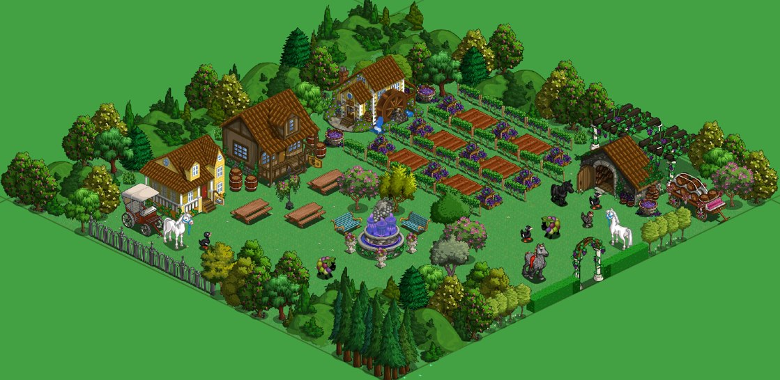 Farmville vineyard model farm shows off decorating ideas - Small farming ideas that pay off ...
