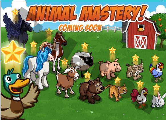 FarmVille Animal Mastery