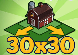 FarmVille 30x30 expansion