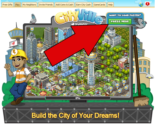 CityVille Load Faster