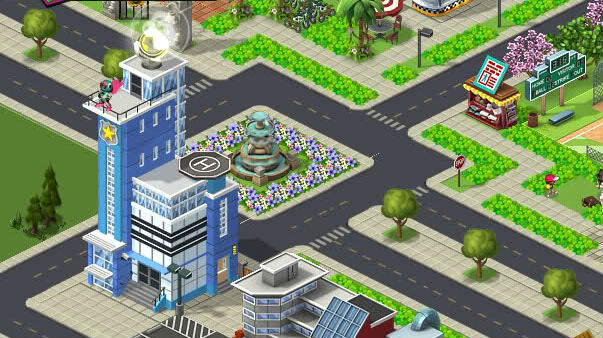 CityVille Police Station Level 7