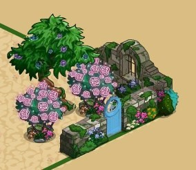 FarmVille Fairy Garden Items Star Flower Trees Fairy Cat Garden