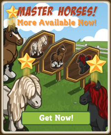 Farmville Master Horses re-release