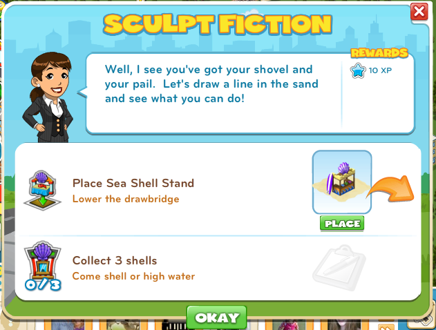 Sculpt Fiction CityVille