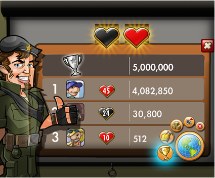 Empires Allies Leaderboards Honor Infamy