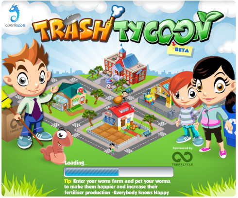 Trash Tycoon loading screen