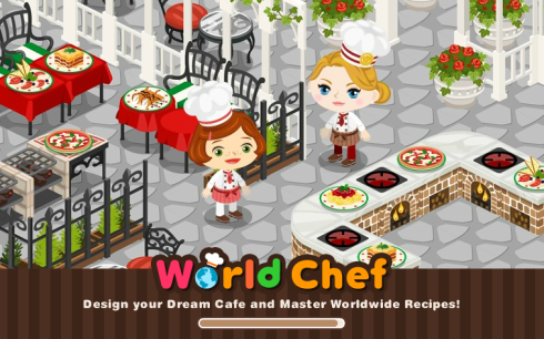 World Chef Facebook game loading screen