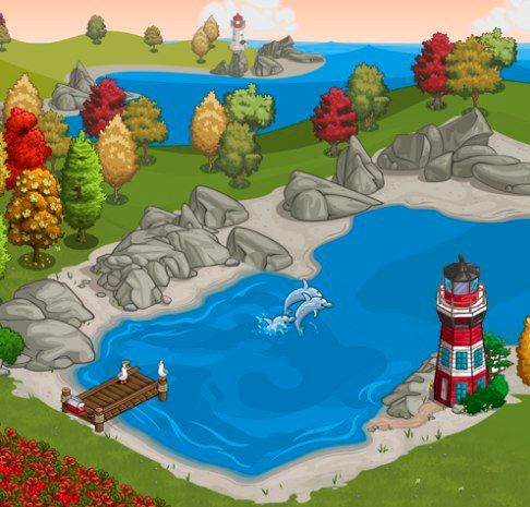 FarmVille Lighthouse Cove screen shot