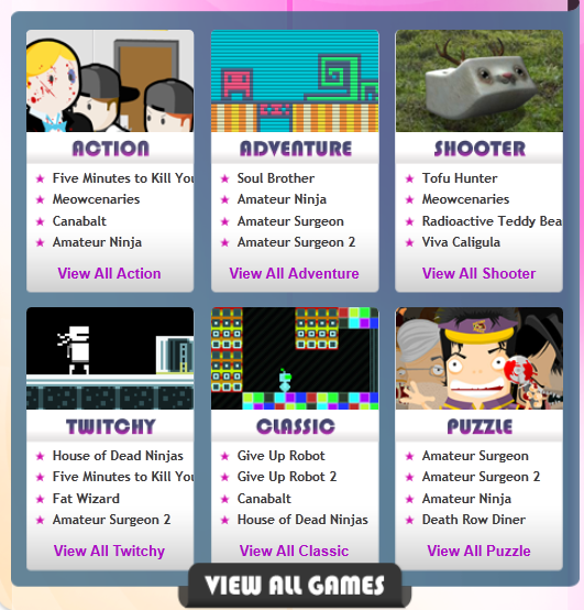 Adult Swim Games Arcade view all games